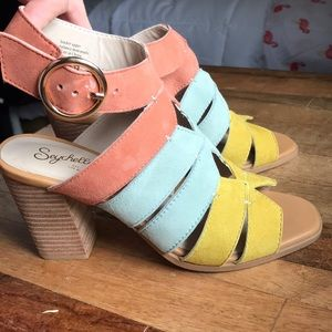 Seychelles suede sandals